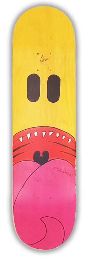 Skateboard Dropinboards Kook
