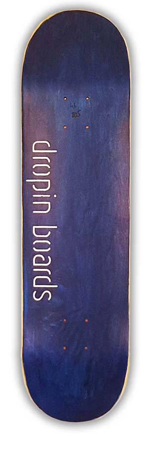 Skateboard Dropinboards Royal Blue