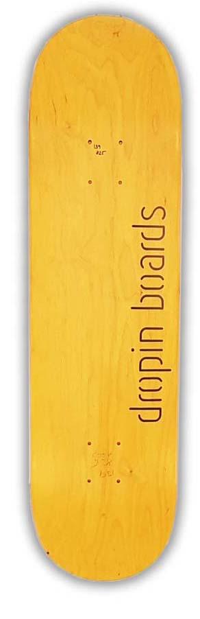 Skateboard Dropinboards Yellow